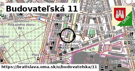Budovateľská 11, Bratislava