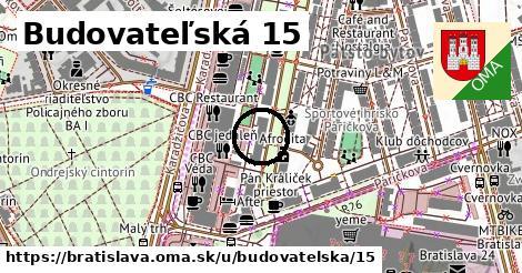 Budovateľská 15, Bratislava