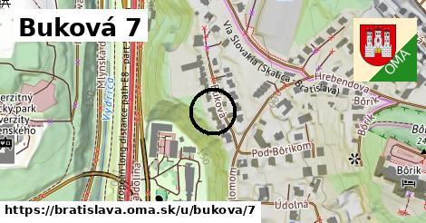 Buková 7, Bratislava