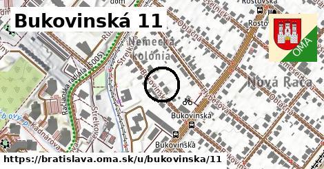 Bukovinská 11, Bratislava