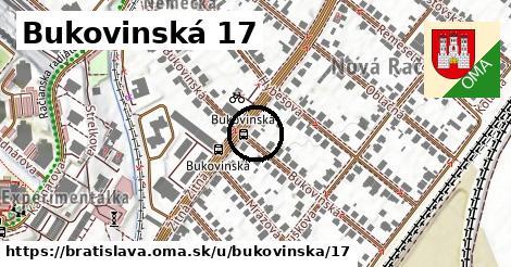 Bukovinská 17, Bratislava