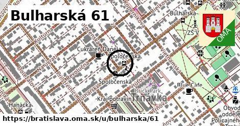 Bulharská 61, Bratislava
