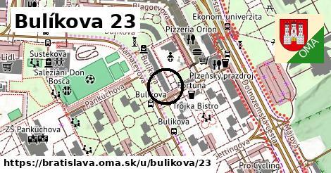 Bulíkova 23, Bratislava