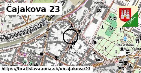 Čajakova 23, Bratislava