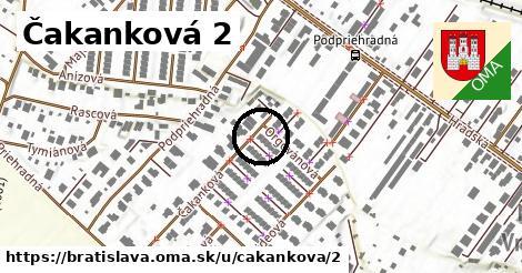 Čakanková 2, Bratislava