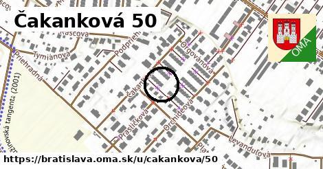Čakanková 50, Bratislava