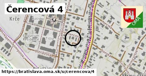 Čerencová 4, Bratislava