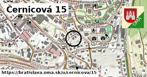 Černicová 15, Bratislava