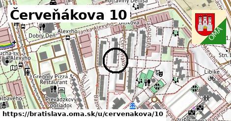 Červeňákova 10, Bratislava