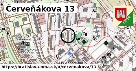 Červeňákova 13, Bratislava