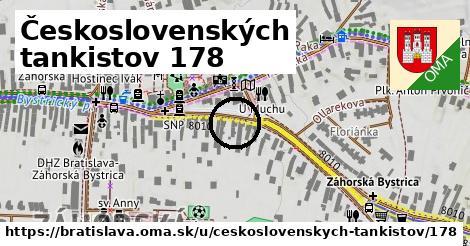 Československých tankistov 178, Bratislava