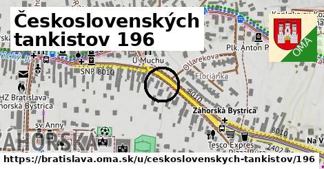 Československých tankistov 196, Bratislava