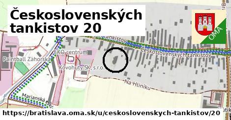 Československých tankistov 20, Bratislava