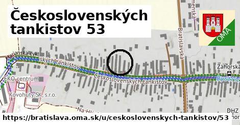 Československých tankistov 53, Bratislava