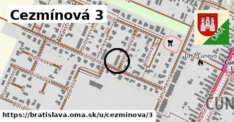 Cezmínová 3, Bratislava