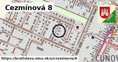 Cezmínová 8, Bratislava