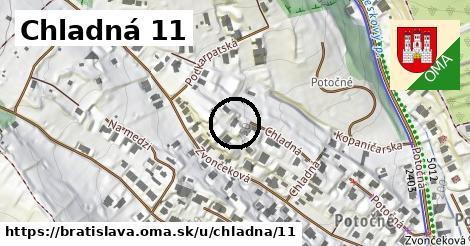 Chladná 11, Bratislava