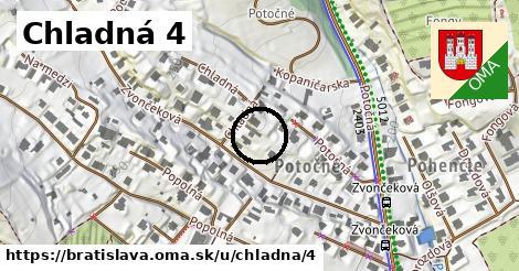 Chladná 4, Bratislava