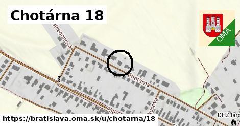 Chotárna 18, Bratislava