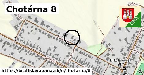 Chotárna 8, Bratislava