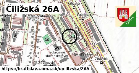 Čiližská 26A, Bratislava