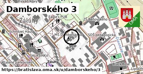 Damborského 3, Bratislava