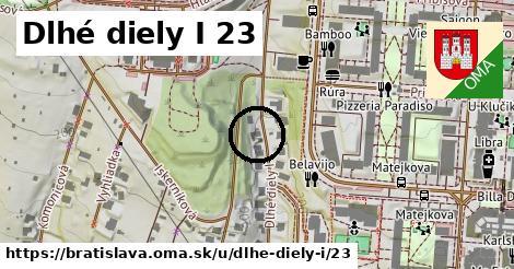 Dlhé diely I 23, Bratislava