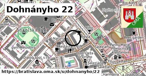Dohnányho 22, Bratislava