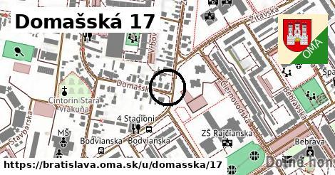 Domašská 17, Bratislava