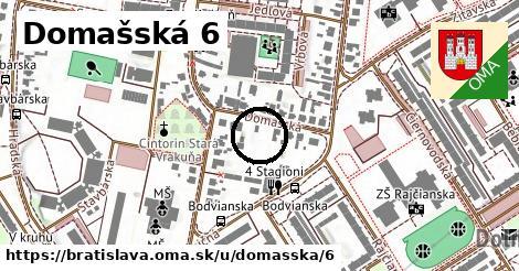 Domašská 6, Bratislava