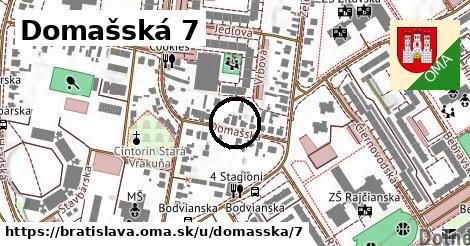 Domašská 7, Bratislava