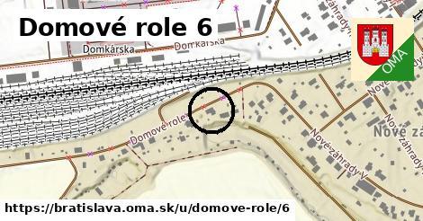 Domové role 6, Bratislava