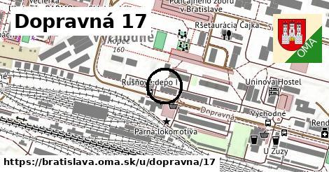 Dopravná 17, Bratislava