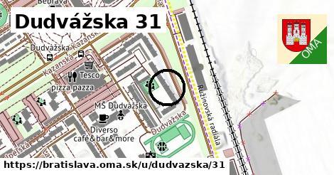 Dudvážska 31, Bratislava