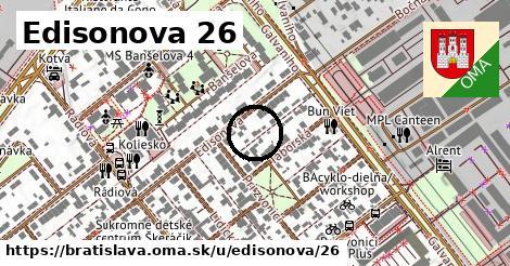 Edisonova 26, Bratislava