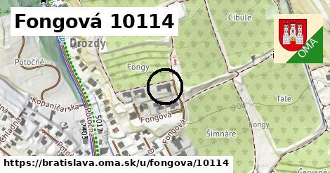 Fongová 10114, Bratislava