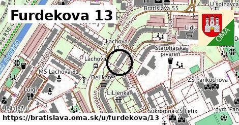 Furdekova 13, Bratislava