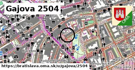 Gajova 2504, Bratislava
