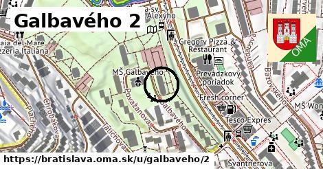 Galbavého 2, Bratislava