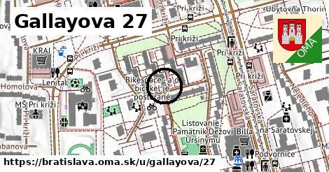 Gallayova 27, Bratislava