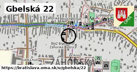 Gbelská 22, Bratislava
