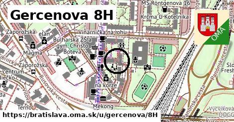 Gercenova 8H, Bratislava