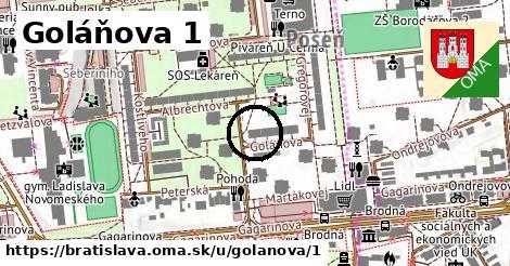 Goláňova 1, Bratislava