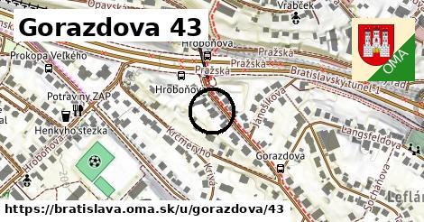 Gorazdova 43, Bratislava