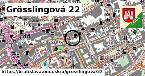 Grösslingová 22, Bratislava