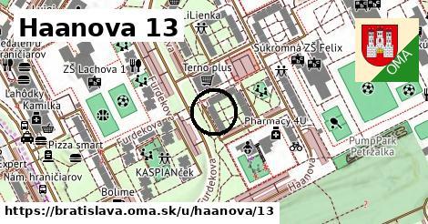 Haanova 13, Bratislava