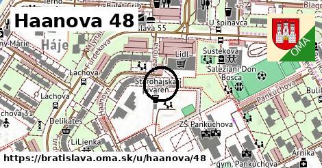 Haanova 48, Bratislava