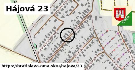 Hájová 23, Bratislava