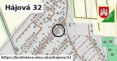Hájová 32, Bratislava