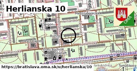 Herlianska 10, Bratislava